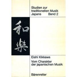 Bärenreiter Vom Charakter der japanischen Musik, von Eishi Kikkawa