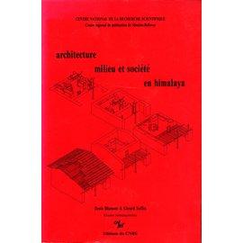 Editions du CNRS Architecture, Milieuet Société en Himalaya, byDeins Blamont et Gerard Toffin