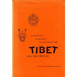 Stanford University Press Tibet and the Tibetans, by Tsung-line Shen and Shen-chi Liu