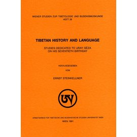 Wiener Studien zur Tibetologie und Buddhismuskunde Tibetan History and Language, by Ernst Steinkellner