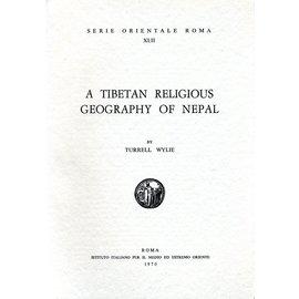 Istituto Italiano per il Medio ed Estremo Oriente A Tibetan Relgious Geography of Nepal, by Turrell Wylie