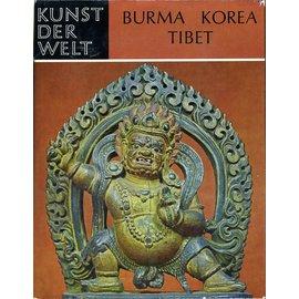 Schweizer Druck- und Verlagsanstalt Zürich Burma Korea Tibet, von Alexander Griswold, Chewon Kim, Pieter H. Pott