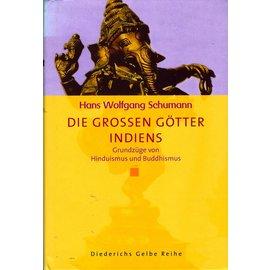 Diederichs Gelbe Reihe Die Grossen Götter Indiens, von Hans Wolfgang Schumann