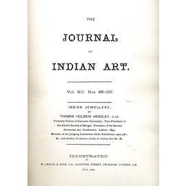 Low Price Publications Delhi Indian Jewellery, by Thomas Holbein Hendley