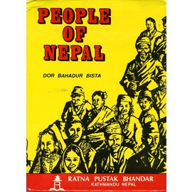 Ratna Pustak Bhandur People of Nepal, by Dor Bahadur Bista