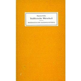 Verlag Kristiani Konstanz Buddhistisches Wörterbuch, von Nyanatiloka