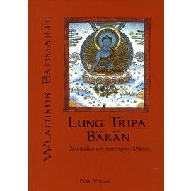 Fabri Verlag Lung Tripa Bäkan: Grundzüge der Tibetischen Medizin, von Wladimir Badmajeff