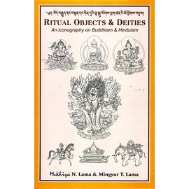 Vajra Publications Ritual Objects and Deities: An Iconography on Buddhism & Hinduism, by  Mukhiya N. Lama and Mingyur T. Lama