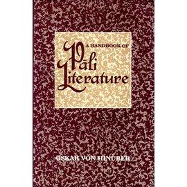 Munshiram Manoharlal Publishers A Handbook on Pali Literature, by Oskar von Hinüber