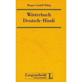 Langenscheidt Verlag Wörterbuch Deutsch-Hindi, von Margot Gatzlaff-Hälsig