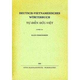 Harrassowitz Deutsch-Vietnamesisches Wörterbuch, von Klaus Ferkinghoff