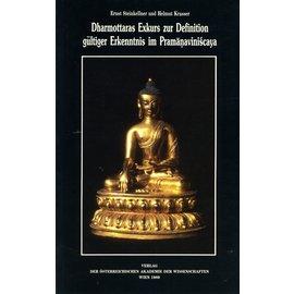 Verlag der Österreichischen Akademie der Wissenschaften Dharmottaras Exkurs zur Definition gültiger Erkenntnisim Pramanaviniscaya, von Ernst Steinkellner