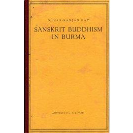 H.J. Paris Amnsterdam Sanskrit Buddhism in Burma, by Nihar-Ranjan Ray