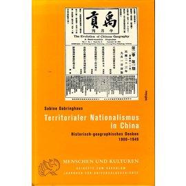 Böhlau Verlag Territorialer Nationalismus in China, von Sabine Dabringhaus