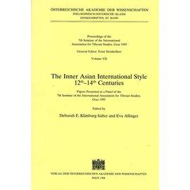 Verlag der Österreichischen Akademie der Wissenschaften The Inner Asian International Style 12th - 14th Centuries, by Deborah E. Klimburg-Salter and Eva Allinger