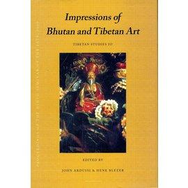 Vajra Publications Impressions of Bhutan and Tibetan Art, by John Ardussi & Henk Blezer