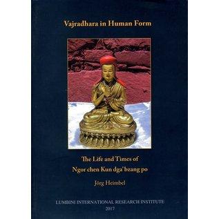 LIRI Vajradhara in Human Form: The Life and Times of Ngor chen Kun dga 'bzang po, by Jörg Heimbel
