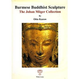 White Lotus Burmese Buddhist Sculpture, by Otto Karow