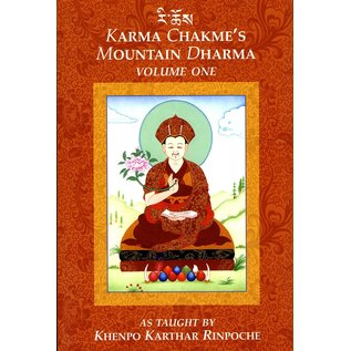 KTD Publications Karma Chakmé's Mountain Dharma, Vol 1, by Khenpo Karthar Rinpoche