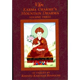 KTD Publications Karma Chakmé's Mountain Dharma, Vol 3, by Khenpo Karthar Rinpoche