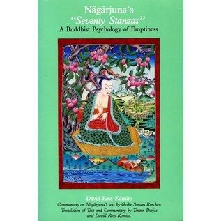 "Snow Lion Publications Nagarjuna's ""Seventy Stzanzas"": A buddhist psycholgy of Emptiness,by David Ross Komino"