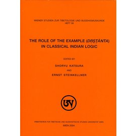 WSTB The Role of the Exemple in Classical Indian Logic, by Shoryu Katsura and Ernst Steinkellner