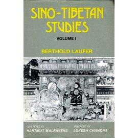 Aditia Prakashan Sino-Tibetan Studies, 2 volumes, by Berthold Laufer