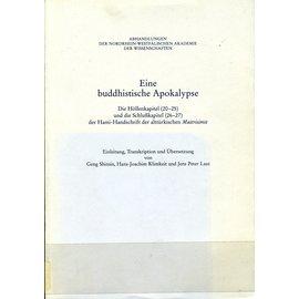 Westdeutscher Verlag Opladen Eine Buddhistische Apokalypse, von Geng Shimin, Hans-Joachim Klimkeit und Jens Peter Laut