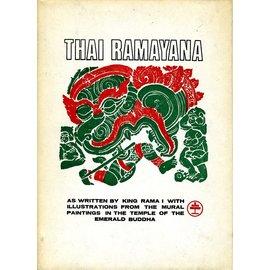 Chalermnit Verlag Bangkok Thai Ramayana, von M.L. Manich Jumsai