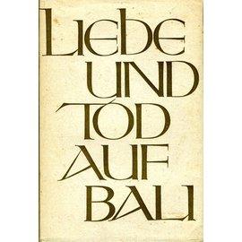 Büchergilde Gutenberg Zürich Liebe und Tod auf Bali, von Vicki Baum (EA)