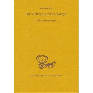 Harrassowitz Die vier Qane von Qalqa, 2 Bände, von Veronika Veit