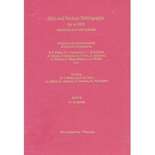 Harrassowitz Epic and Puranic Bibliography (up to 1985), 2 Volumes,  by Heinrich von Stietencron,