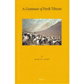 Brill A Grammar of Purik Tibetan, by Marius Zemp