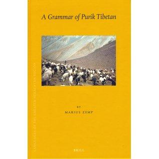 Brill A Grammar of Purik Tibetan, by Marius Zemp