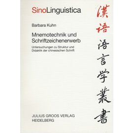 Julius Groos Verlag Mnemotechnik und Schriftzeichererwerb, von Barbara Kuhn