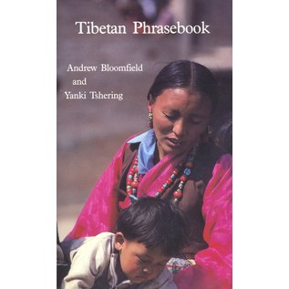 Snow Lion Publications Tibetan Phrasebook, by Andrew Bloomfield and Yanki Tshering