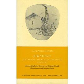 Manesse Bibliothek Kwaidan und andere Geschichtenund Bilder aus Japan, von Lafcadio Hearn