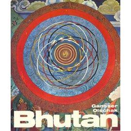 Hallwag Bhutan, von Blanche C. Olschak und Ursula+Augusto Gansser