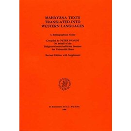 Religionswissenschaftliches Seminar Bonn Mahayana Texts Translated into Western Languages, by Peter Pfandt