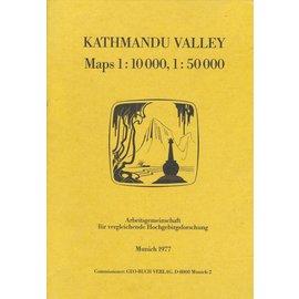 Arbeitsgemeinschaft für vergleichende Hochgebirgsforschung Katmandu Valley: Maps 1:10000, 1:50000