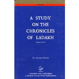 Low Price Publications Delhi A Study on the Chronicles of Ladakh, by Luciano Petech