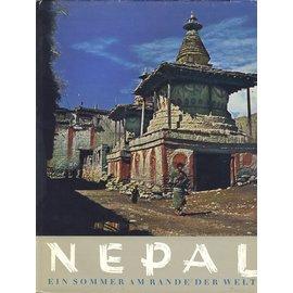 Schweizer Druck- und Verlagsanstalt Zürich Nepal Ein Sommer am Rande der Welt, von Heinz Steinmetz und Jürgen Wellenkamp