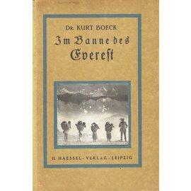 H. Haessel Verlag Leipzig Im Banne des Everest, von Kurt Böck