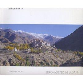 Magenta 4 Bergklöster in Ladakh, von Werner Prokschi