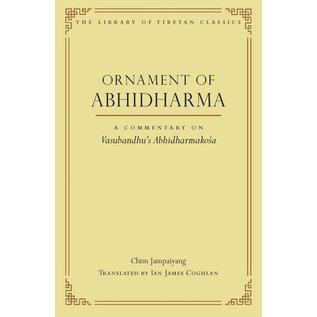 Wisdom Publications Ornament of Abhidharma, A Commentary on Vasubandhu's Abhidharmakosa,by Chim Jampaiyang
