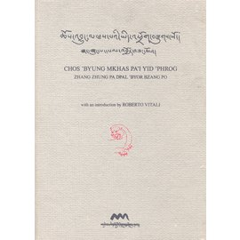 Amnye Machen Institute Chos 'byung mkhas pa'i yid 'phrog by Zhang zhung pa dPal 'byor bzang po with an Introduction by Roberto Vitali