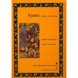Aryan Books International Ajanta: Handbook of the Paintings, by Dieter Schlinghoff