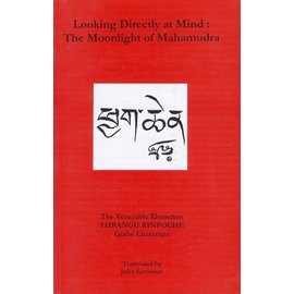 Sri Satguru Publications Looking Directly at Mind: The Moonlight of Mahamudra, by Thrangu Rinpoche, Jules Levinson