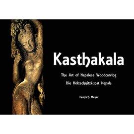 Vajra Publications Kasthakala: The Art of Nepalese Woodcarving / die Holzschnitzkunst Nepals, von Heinrich Meyer
