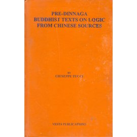 Vesta Publications Madras Pre-Dinnaga Buddhist Texts on Logic from Chinese Sources, by Giuseppe Tucci